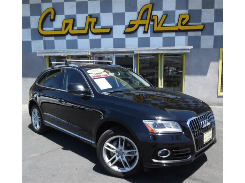 2016 Audi Q5 for sale at Car Ave in Fresno CA