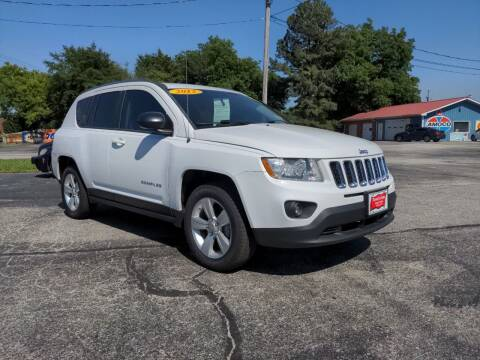 2012 Jeep Compass for sale at Towell & Sons Auto Sales in Manila AR