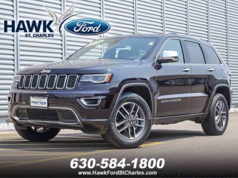 2020 Jeep Grand Cherokee for sale at Hawk Ford of St. Charles in Saint Charles IL