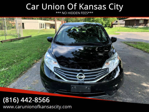 2015 Nissan Versa Note for sale at Car Union Of Kansas City in Kansas City MO