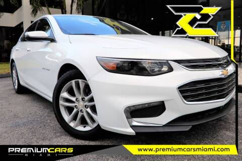 2017 Chevrolet Malibu for sale at Premium Cars of Miami in Miami FL