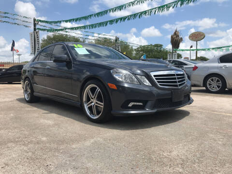 2010 Mercedes-Benz E-Class for sale at SOUTHWAY MOTORS in Houston TX