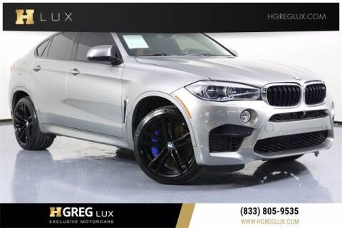 2019 BMW X6 M for sale at HGREG LUX EXCLUSIVE MOTORCARS in Pompano Beach FL