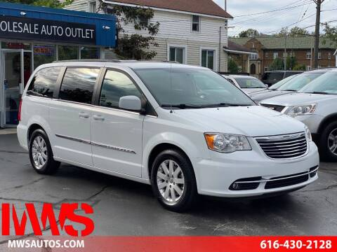 2016 Chrysler Town and Country for sale at MWS Wholesale  Auto Outlet in Grand Rapids MI