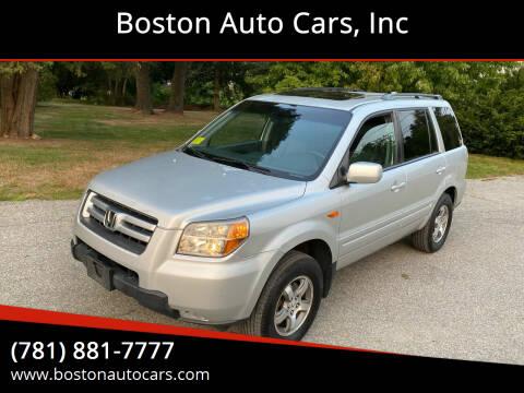 2008 Honda Pilot for sale at Boston Auto Cars in Dedham MA