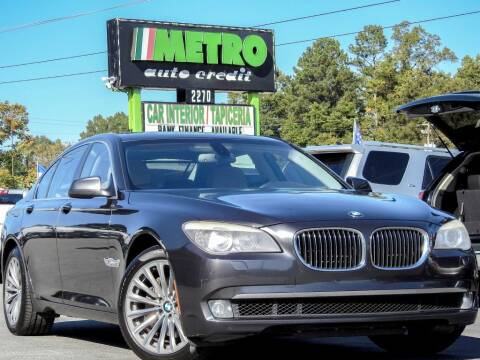 2012 BMW 7 Series for sale at Metro Auto Credit in Smyrna GA