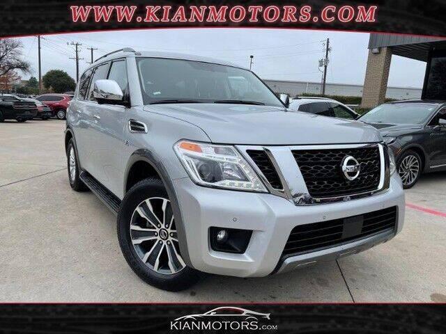 2020 Nissan Armada for sale at KIAN MOTORS INC in Plano TX