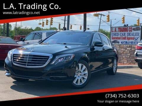 2015 Mercedes-Benz S-Class for sale at L.A. Trading Co. Woodhaven in Woodhaven MI