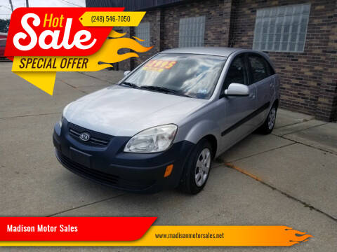 2009 Kia Rio5 for sale at Madison Motor Sales in Madison Heights MI