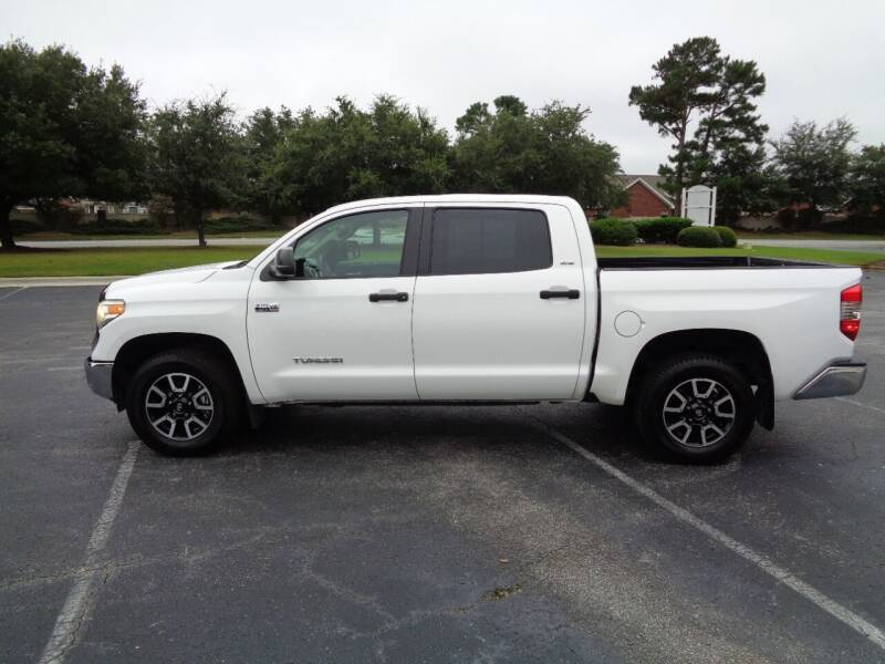 2017 Toyota Tundra for sale at BALKCUM AUTO INC in Wilmington NC