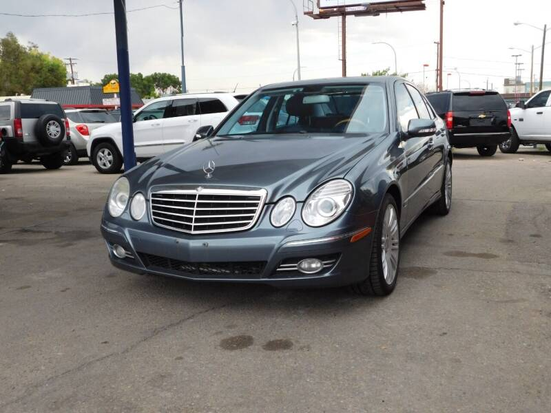 2008 Mercedes-Benz E-Class for sale at INFINITE AUTO LLC in Lakewood CO