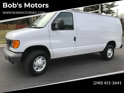 2007 Ford E-Series Cargo for sale at Bob's Motors in Washington DC