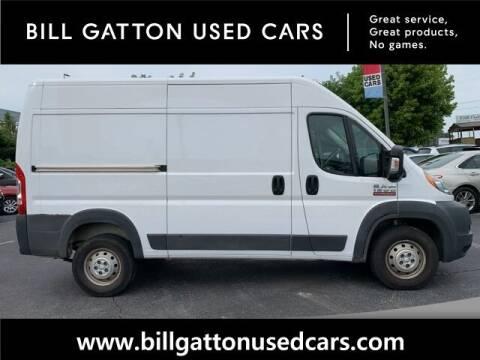 2017 RAM ProMaster Cargo for sale at Bill Gatton Used Cars in Johnson City TN