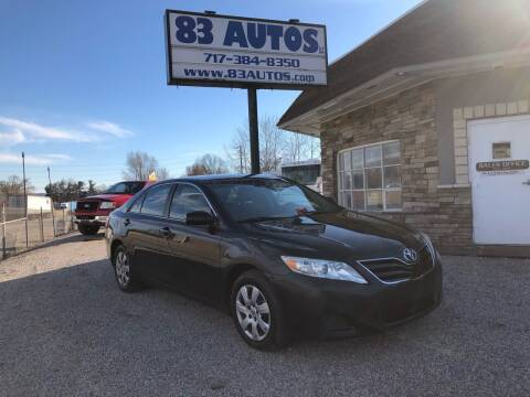 2011 Toyota Camry for sale at 83 Autos in York PA