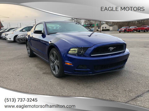 2014 Ford Mustang for sale at Eagle Motors in Hamilton OH