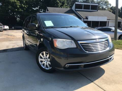 2012 Chrysler Town and Country for sale at Alpha Car Land LLC in Snellville GA