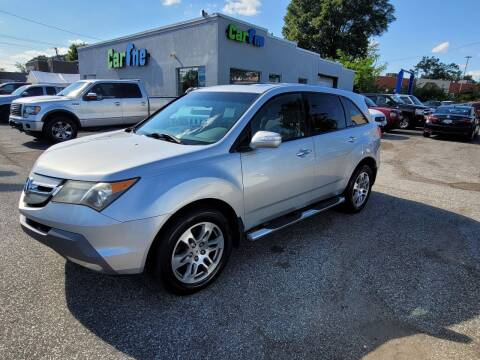 2008 Acura MDX for sale at Car One in Essex MD