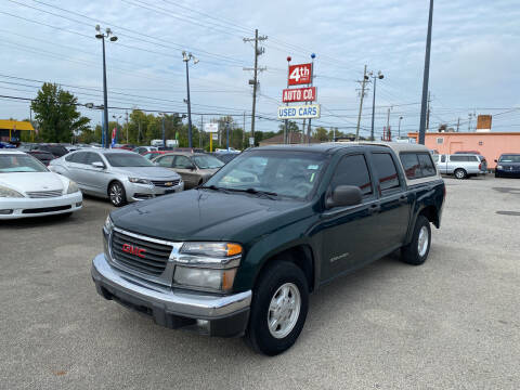 2005 GMC Canyon for sale at 4th Street Auto in Louisville KY