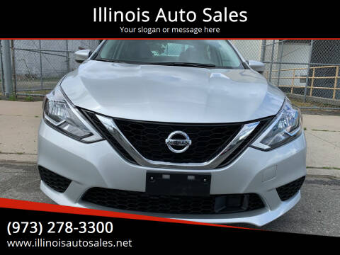 2019 Nissan Sentra for sale at Illinois Auto Sales in Paterson NJ
