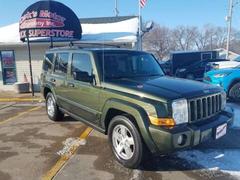 2006 Jeep Commander for sale at DICK'S MOTOR CO INC in Grand Island NE