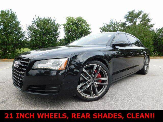 2013 Audi A8 L for sale at Redline Performance group LLC in Douglasville GA