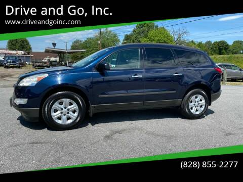 2011 Chevrolet Traverse for sale at Drive and Go, Inc. in Hickory NC