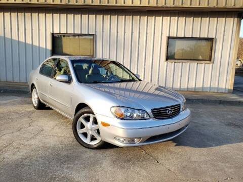 2003 Infiniti I35 for sale at M & A Motors LLC in Marietta GA