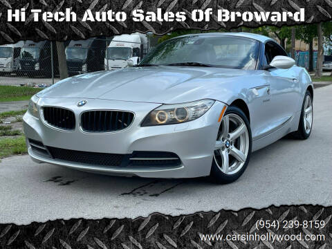 2013 BMW Z4 for sale at Hi Tech Auto Sales Of Broward in Hollywood FL