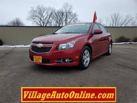 2013 Chevrolet Cruze for sale at Village Auto in Green Bay WI
