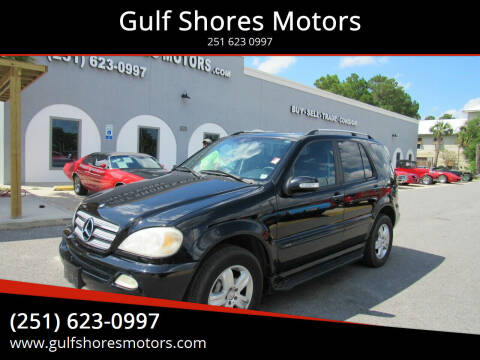 2005 Mercedes-Benz M-Class for sale at Gulf Shores Motors in Gulf Shores AL