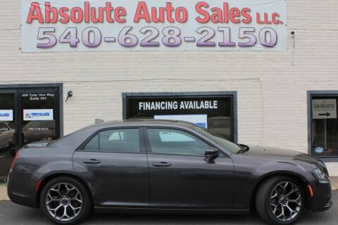 2015 Chrysler 300 for sale at Absolute Auto Sales in Fredericksburg VA