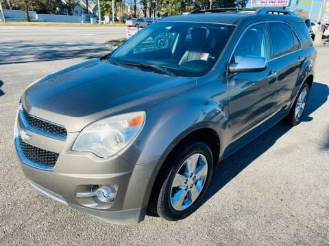 2012 Chevrolet Equinox for sale at VENTURE MOTOR SPORTS in Virginia Beach VA
