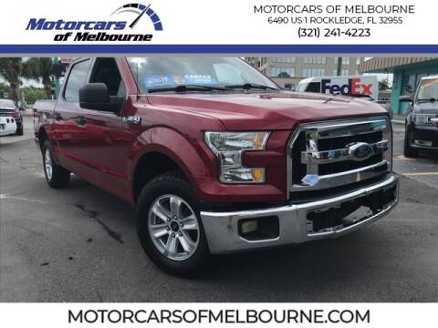 2016 Ford F-150 for sale at Motorcars of Melbourne in Rockledge FL