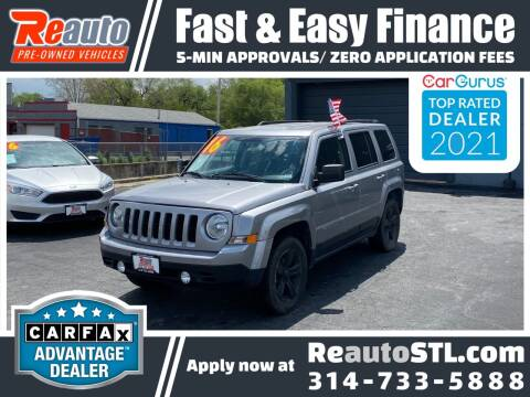 2016 Jeep Patriot for sale at Reauto in Saint Louis MO