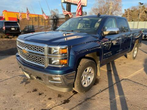 2015 Chevrolet Silverado 1500 for sale at Gus's Used Auto Sales in Detroit MI