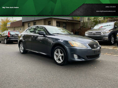 2006 Lexus IS 250 for sale at Big Time Auto Sales in Vauxhall NJ