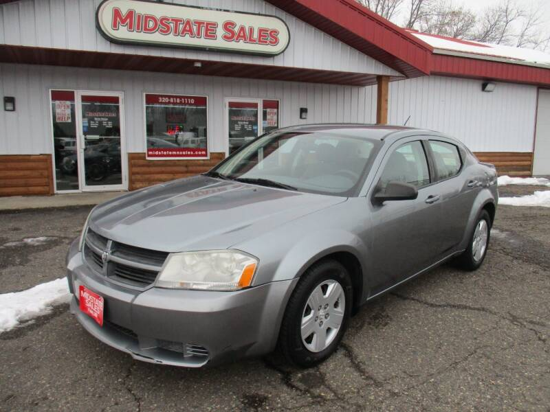 2008 Dodge Avenger for sale at Midstate Sales in Foley MN