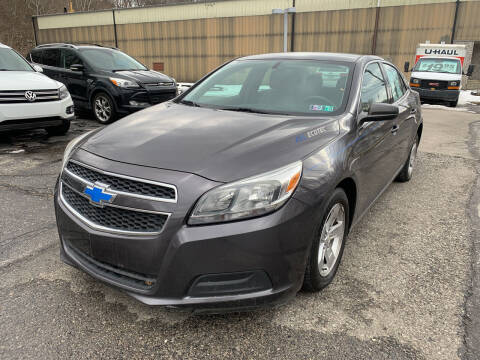 2013 Chevrolet Malibu for sale at B & P Motors LTD in Glenshaw PA