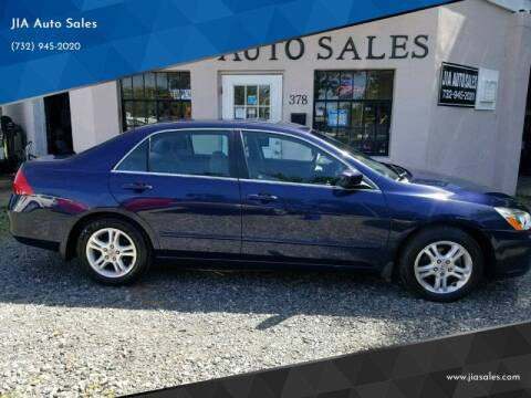 2007 Honda Accord for sale at JIA Auto Sales in Port Monmouth NJ