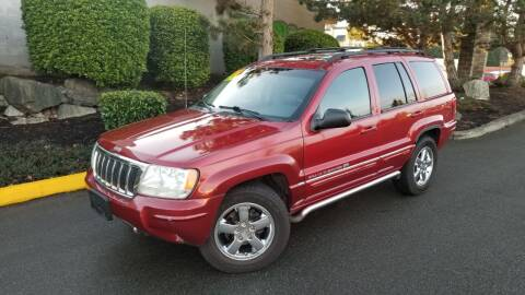 2004 Jeep Grand Cherokee for sale at SS MOTORS LLC in Edmonds WA