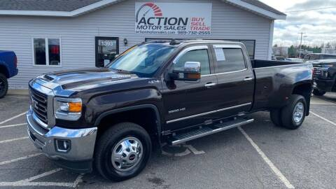2018 GMC Sierra 3500HD for sale at Action Motor Sales in Gaylord MI