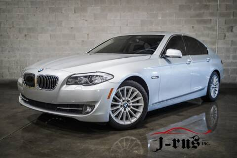 2011 BMW 5 Series for sale at J-Rus Inc. in Macomb MI