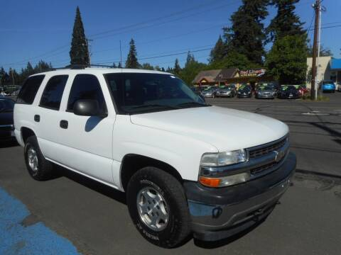 2006 Chevrolet Tahoe for sale at Lino's Autos Inc in Vancouver WA