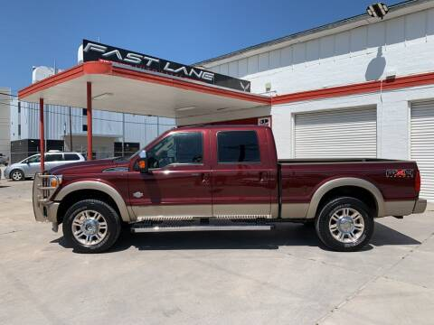 2011 Ford F-250 Super Duty for sale at FAST LANE AUTO SALES in San Antonio TX