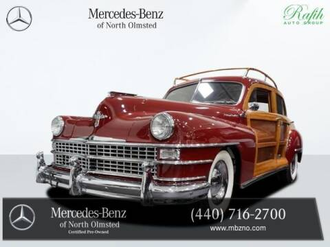 1948 Chrysler Town and Country for sale at Mercedes-Benz of North Olmsted in North Olmstead OH