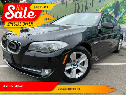2012 BMW 5 Series for sale at Star One Motors in Hayward CA