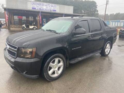 2012 Chevrolet Avalanche for sale at Greenbrier Auto Sales in Greenbrier AR