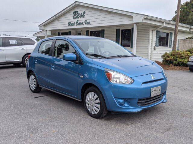 2015 Mitsubishi Mirage for sale at Best Used Cars Inc in Mount Olive NC