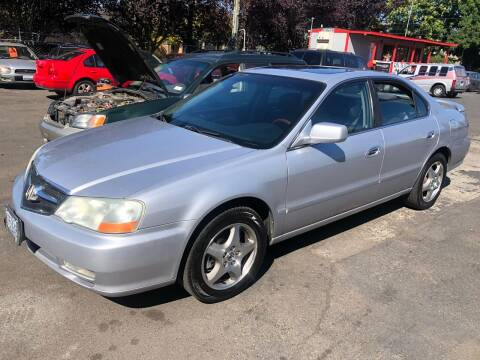2003 Acura TL for sale at Blue Line Auto Group in Portland OR