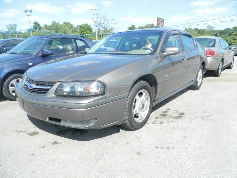 2002 Chevrolet Impala for sale at Auto House Of Fort Wayne in Fort Wayne IN